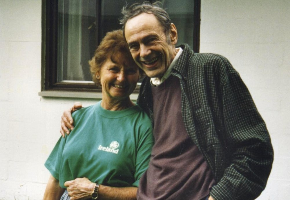 With Nada Lou c. 1995