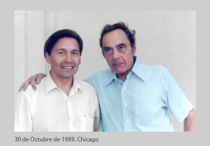 with Edgardo Riveros