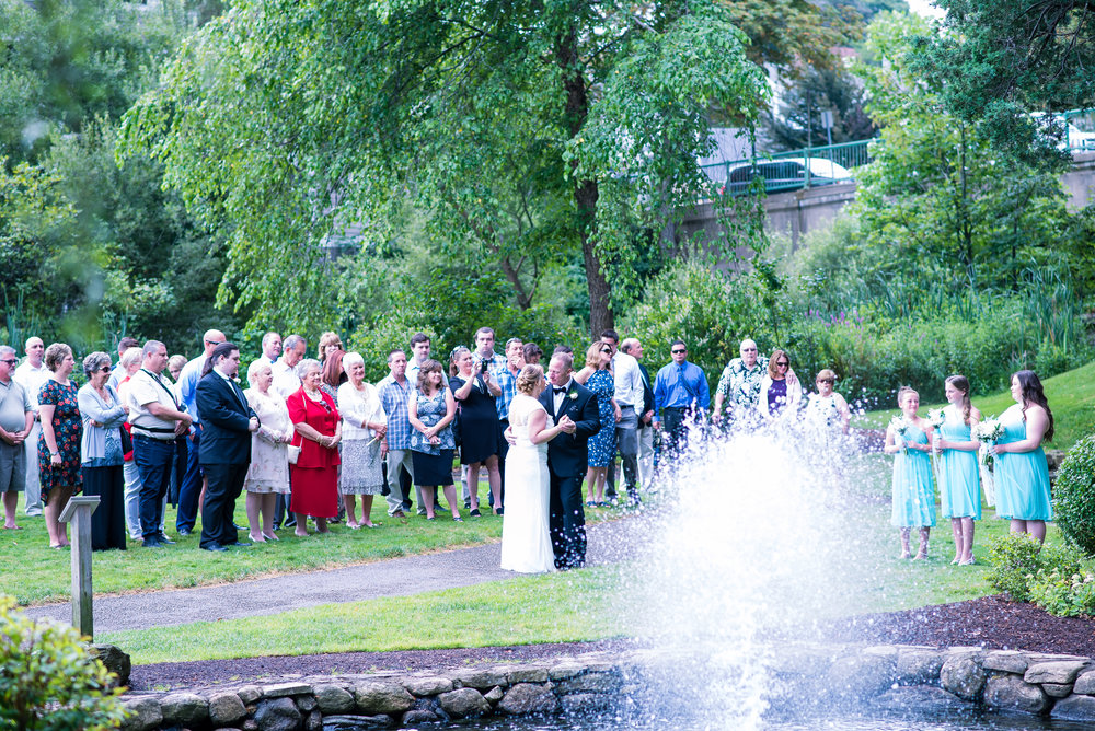 wedding fun by the water fountain at brewster gardens plymouth ma (36 of 1).jpg