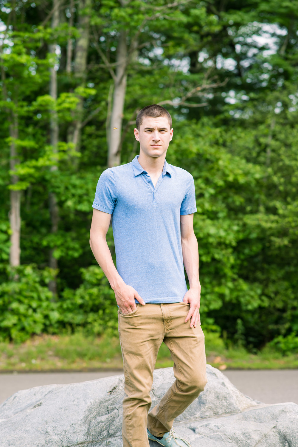 Senior Boy with a Bee at Lake Holbrook MA (24 of 1).jpg