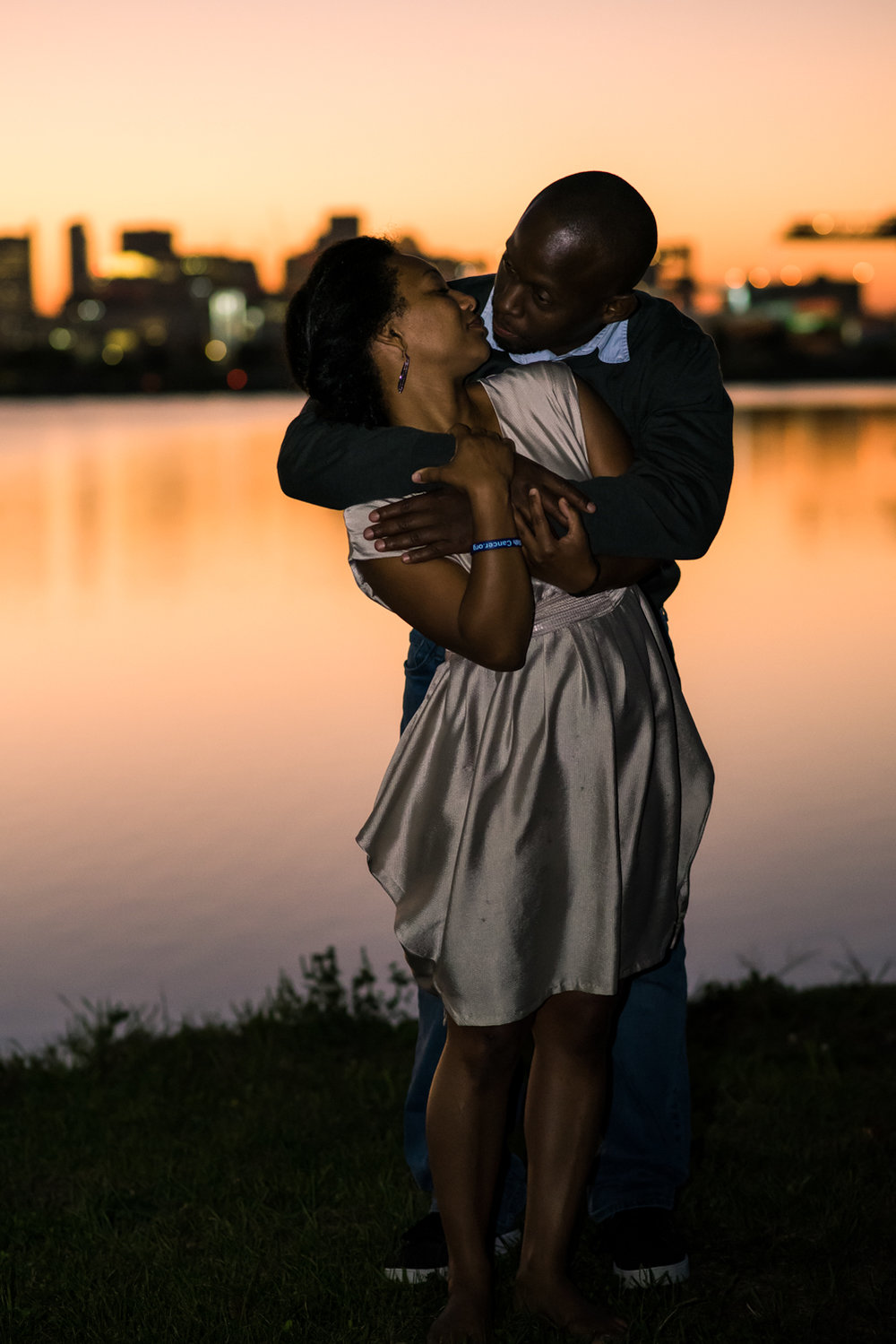 Couple in Castle Island at Sunset (9 of 1).jpg