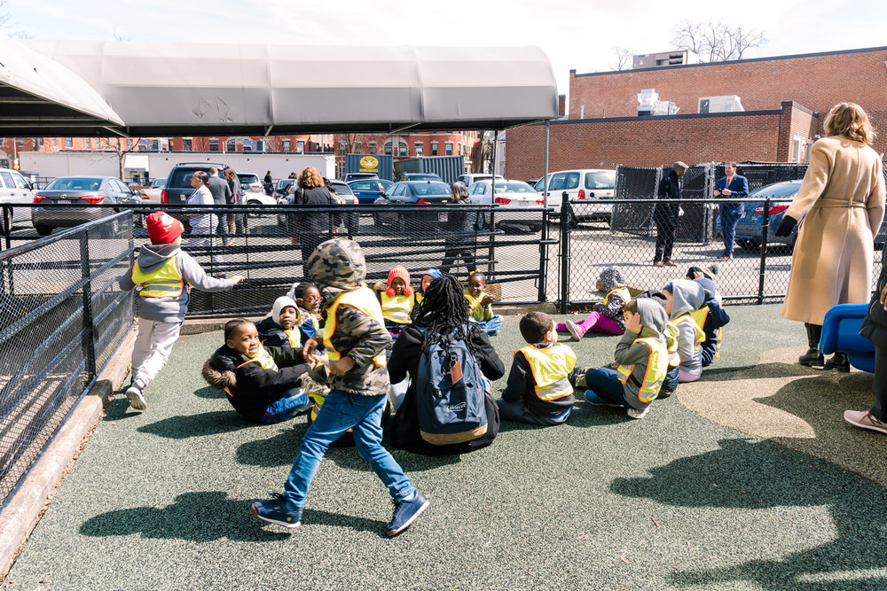 Walnut Grove Headstart Children engaging in activities during the Mayors Speech (14 of 1).JPG