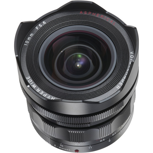 Voigtlander Heliar-Hyper Wide 10mm f/5.6 Aspherical Lens -