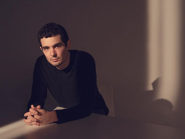 #FirstMan director and #LaLaLand Academy Award winner Damien Chazelle photographed for @variety. 🌕🌖🌗🌘🌑🌒🌓🌔🌕 #DamienChazelle