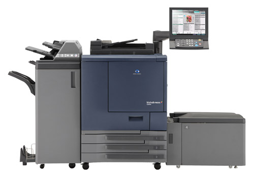Konica Minolta Bizbub Press C6000 and C7000