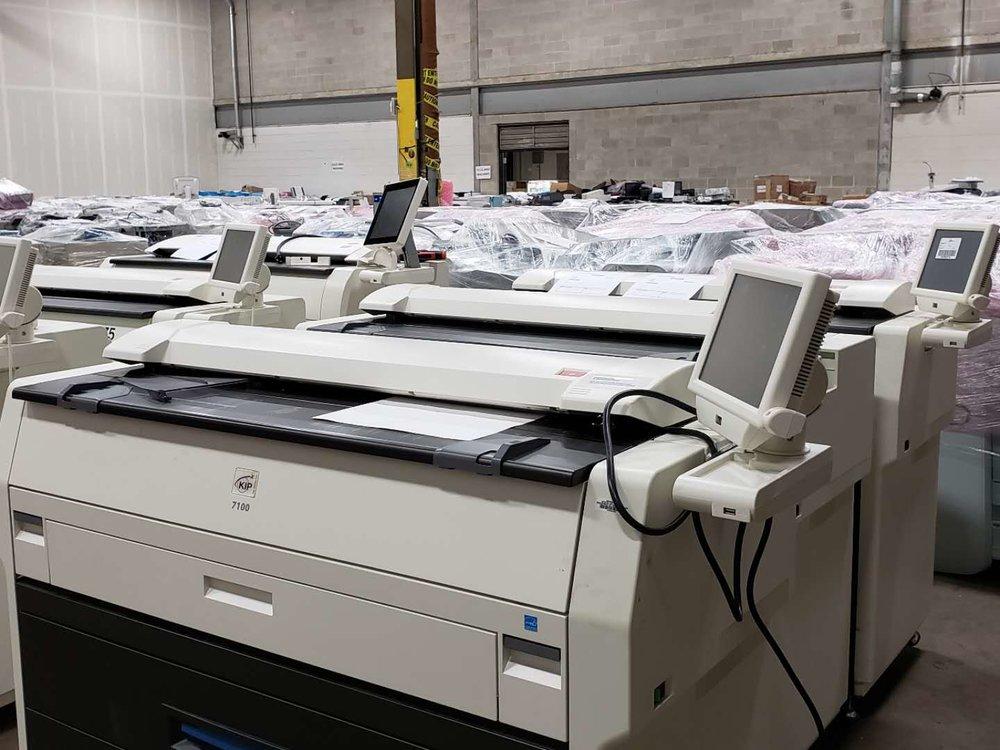 KIP 7100 kingnote warehouse.jpg