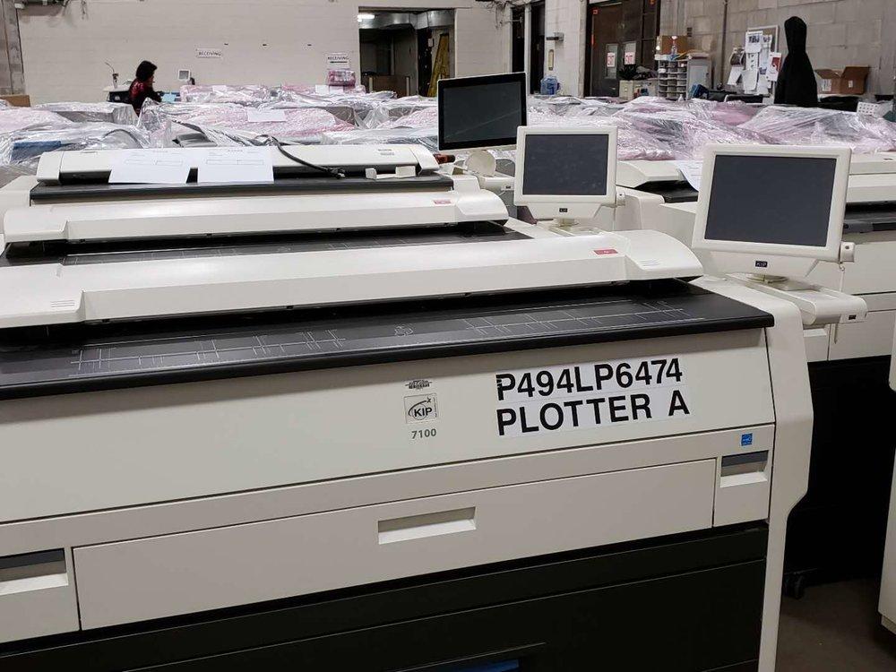 KIP 7100 plotter warehouse kingnote llc.jpg