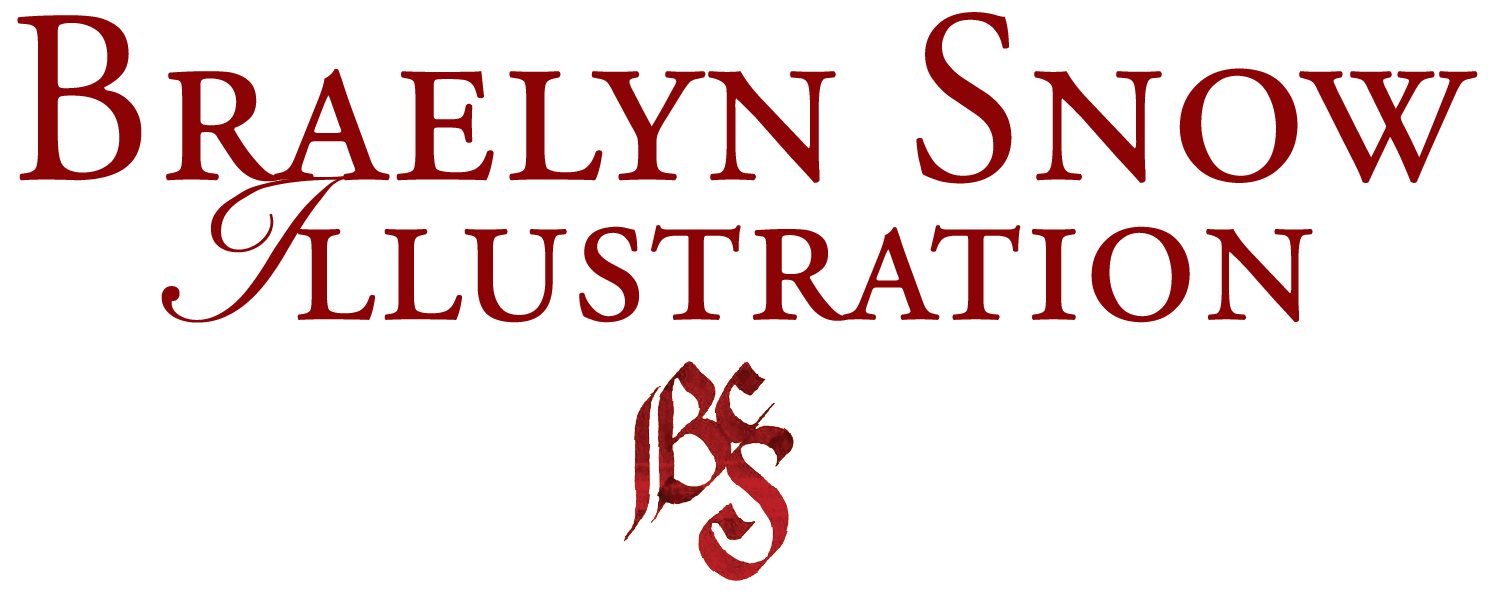 Braelyn Snow Illustration