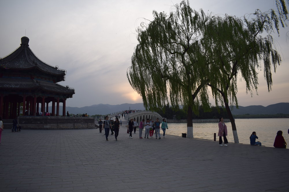 The Great Wall of China and Summer Palace Beijing