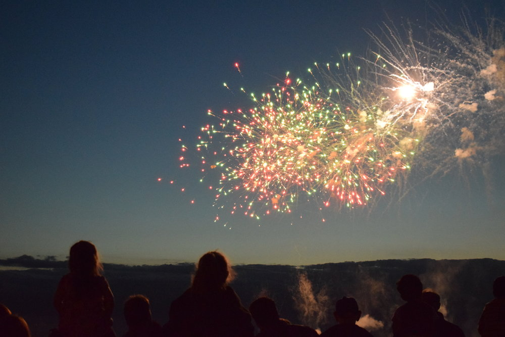 see the New Year in a different country bucket list