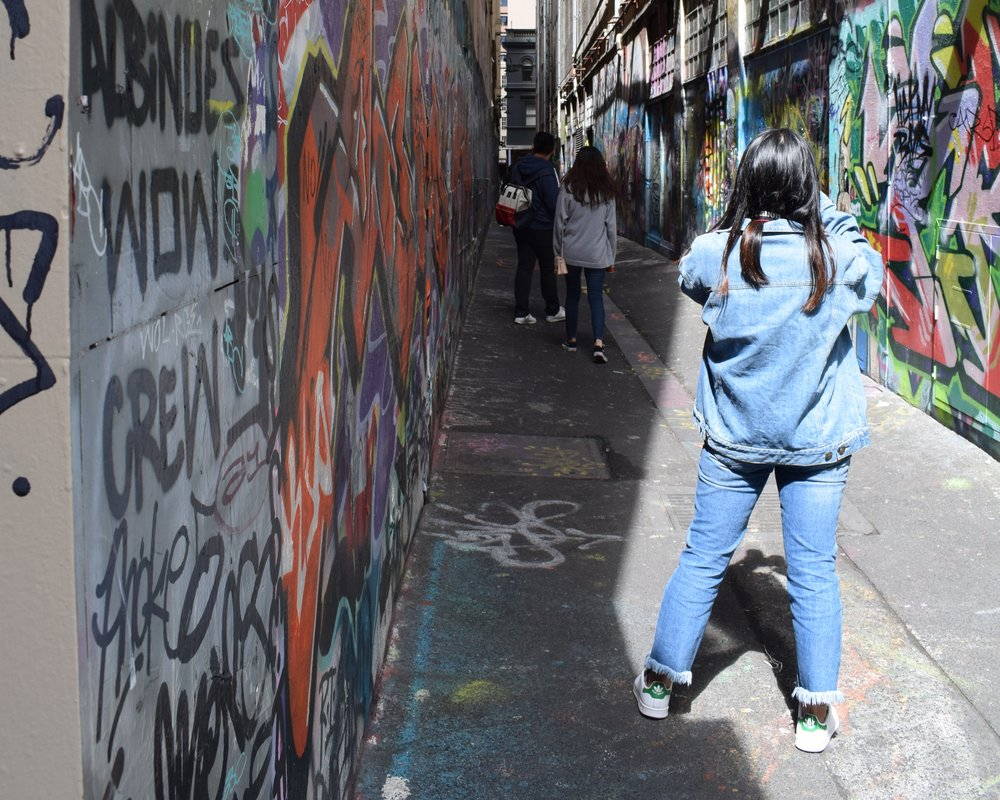melbourne street art bucket list