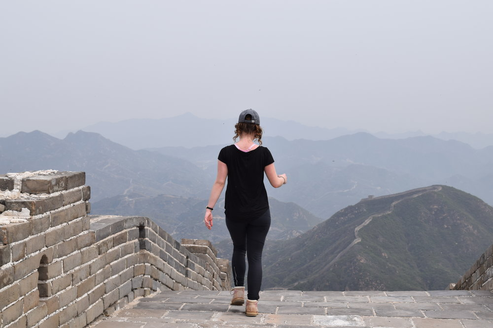 walk the great wall of china bucket list 2018