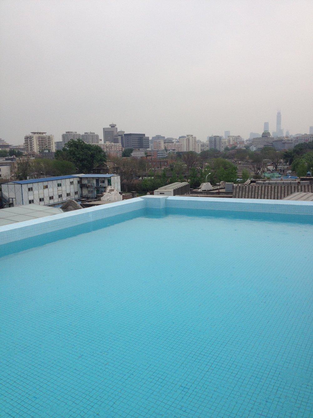 infinity pool china