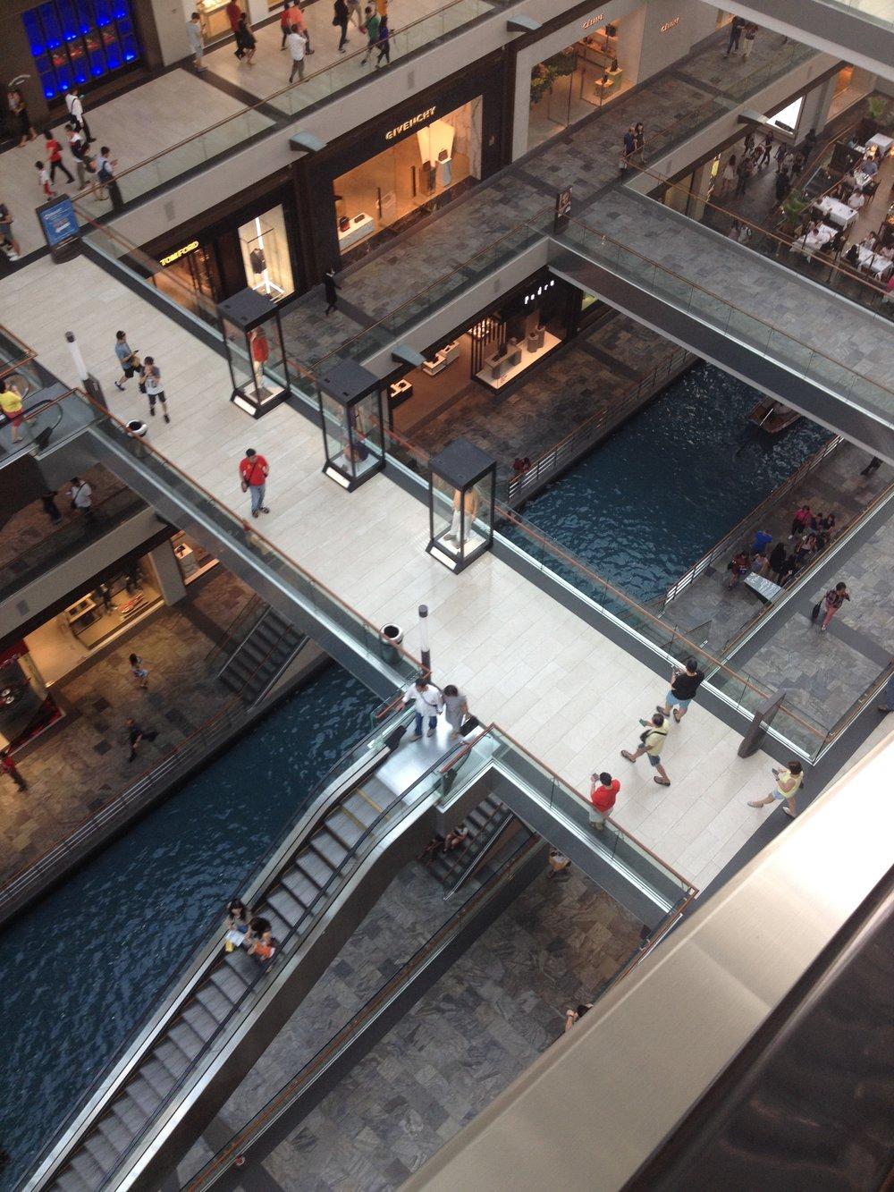 The Shoppes Marina Bay Sands Resort Singapore