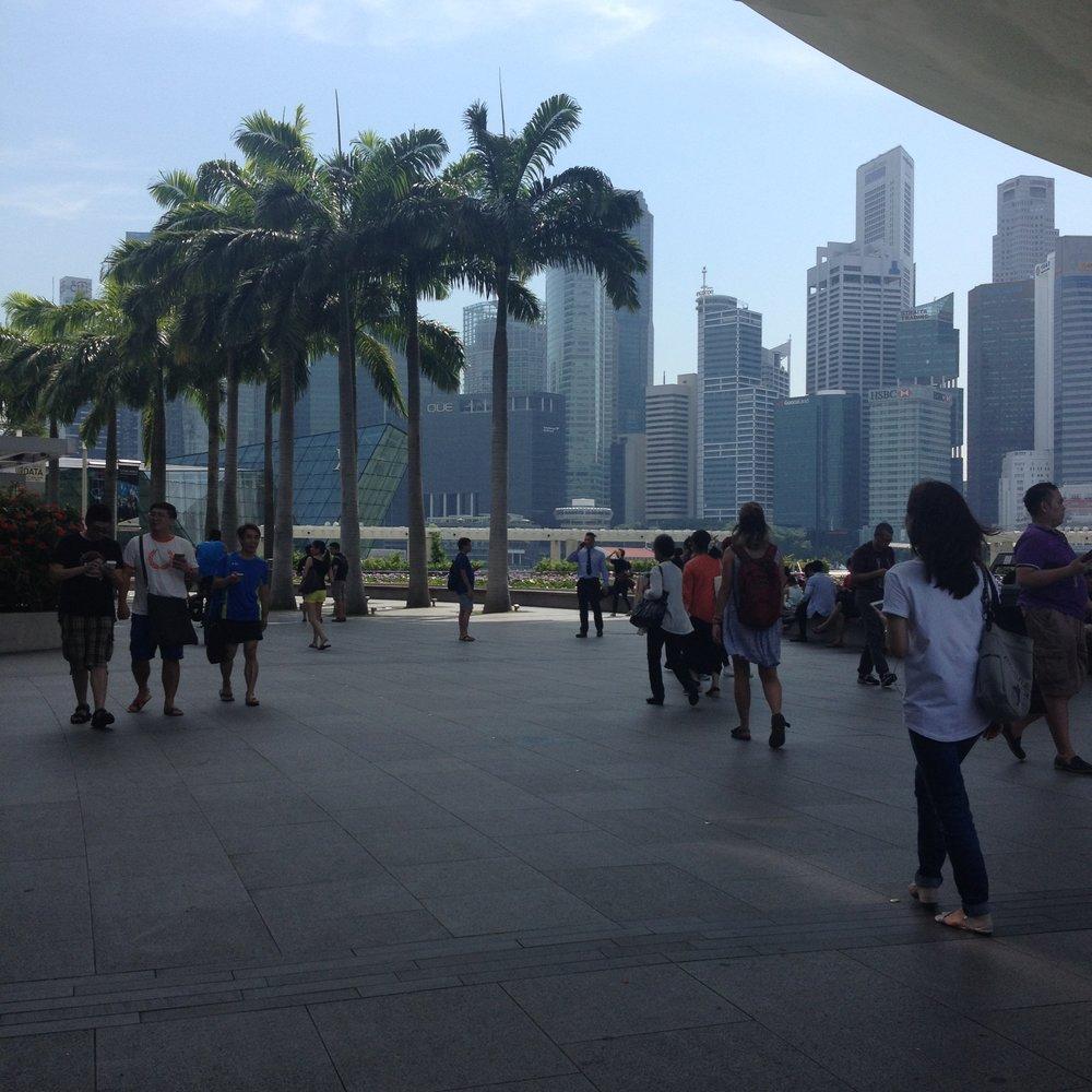 Boardwalk Marina Bay Sands Singapore