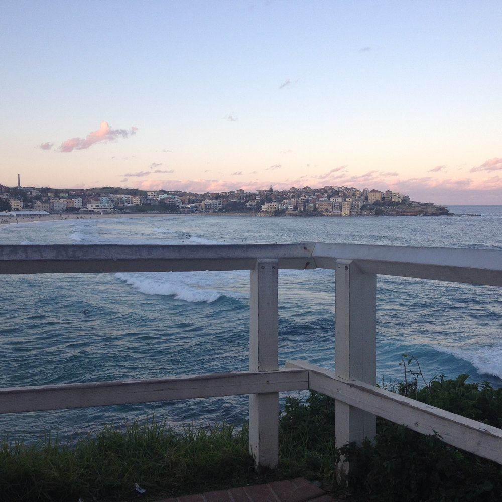 Evenings on Bondi Beach