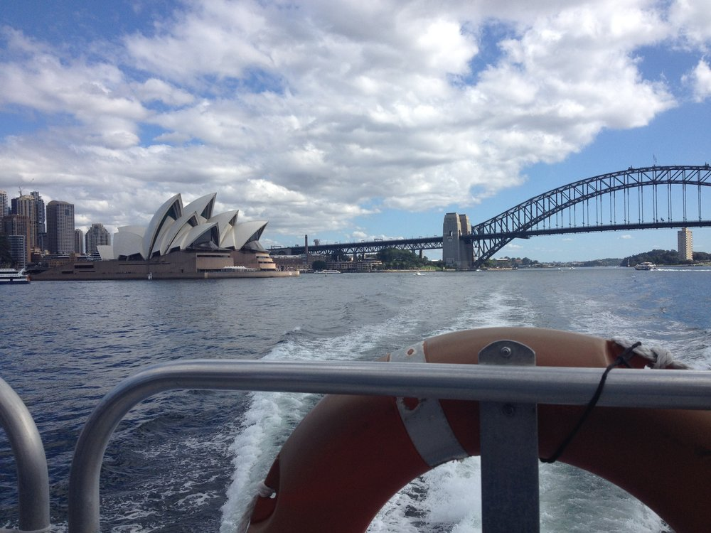 Manly to Sydney Boat