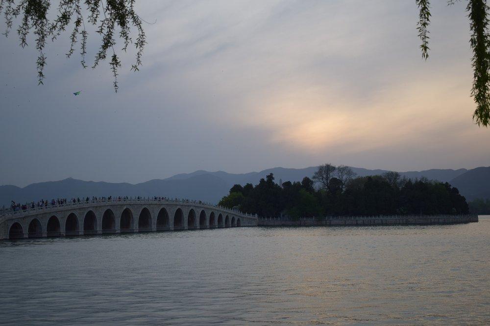 Summer Palace Beijing bridge