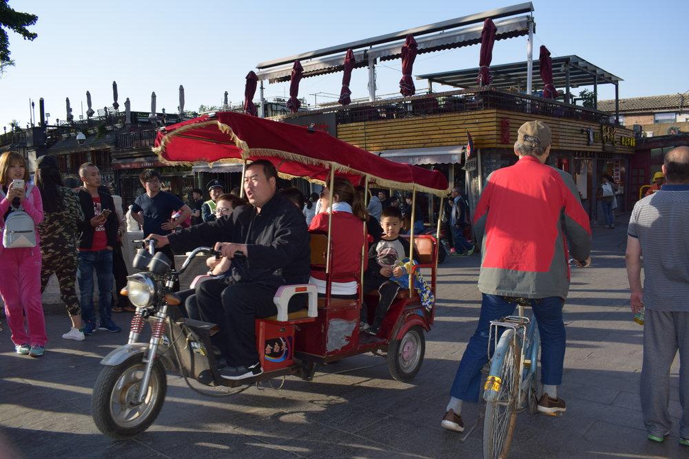 Hutong streets Beijing