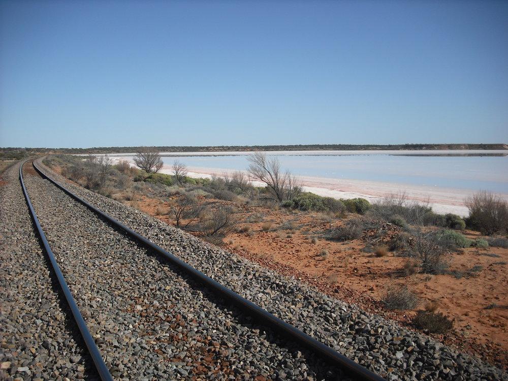 Lake Hart Salt Water Lake Australia