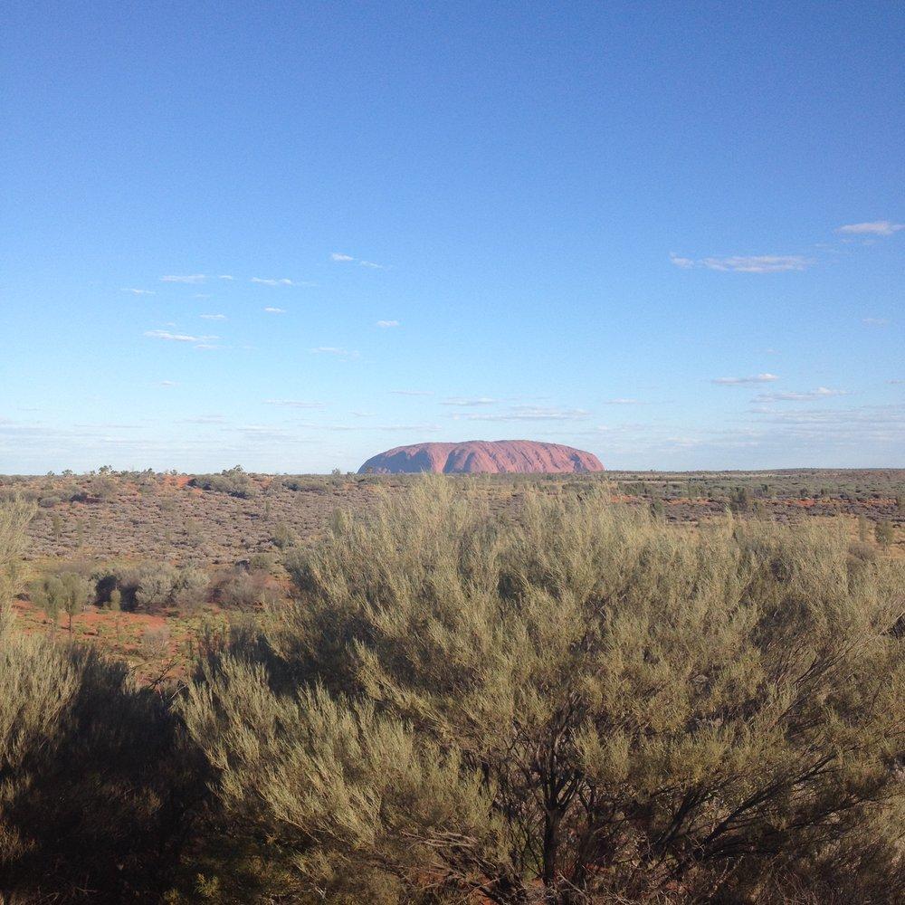 Uluru Northern Territory campground