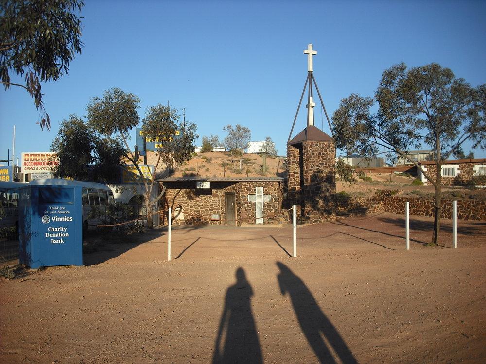 Underground church at Coober Pedy