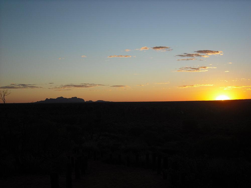 Sunset Kata Tjuta