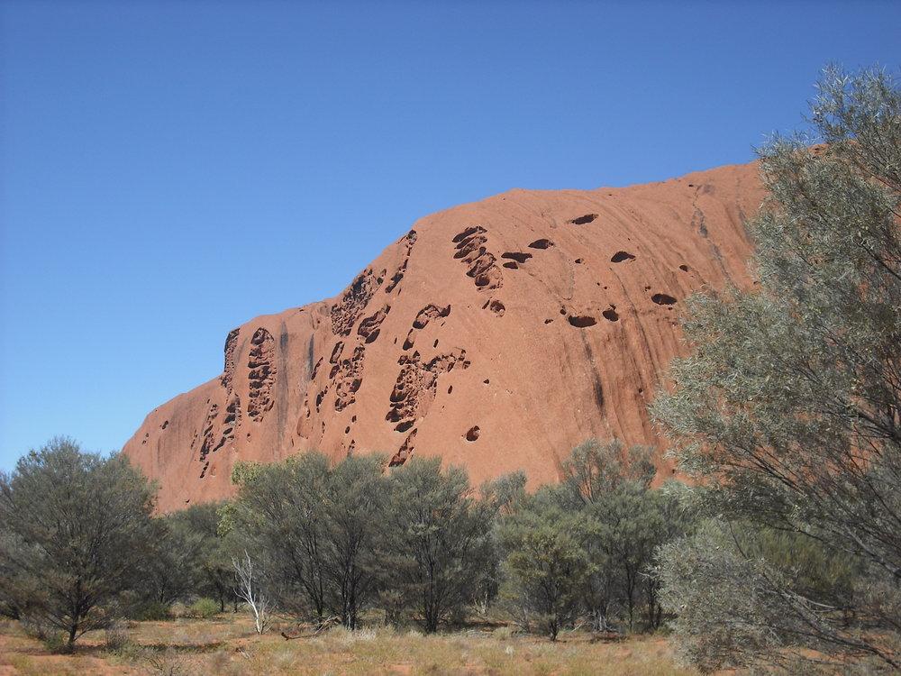 Uluru Base Walk Northern Territory