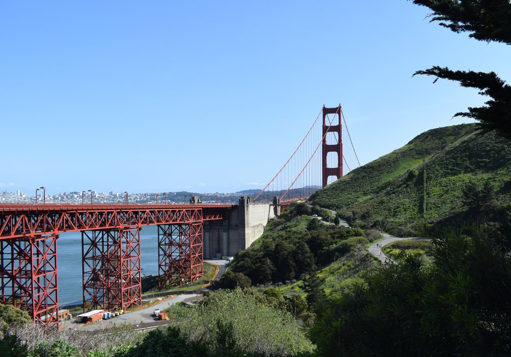 San Francisco Vista Point views