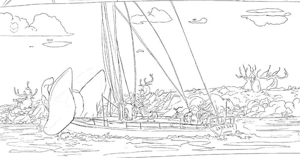 Ganesha Sailing Up Channel SB.JPG