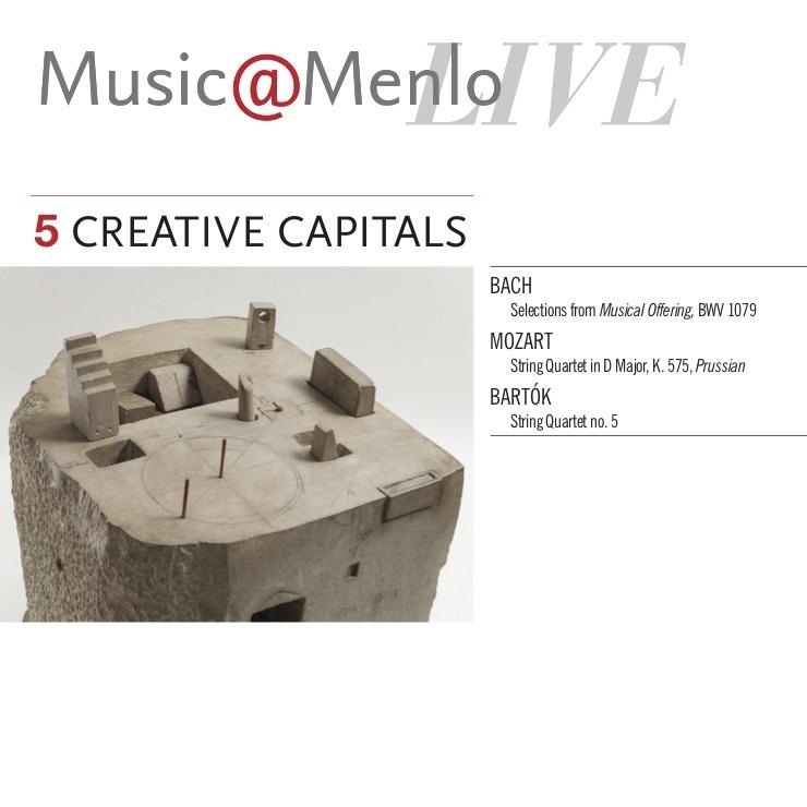 MUSIC@MENLO LIVE, CREATIVE CAPITALS — The Calidore String Quartet