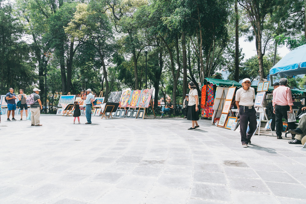art for sale in san angel every saturday