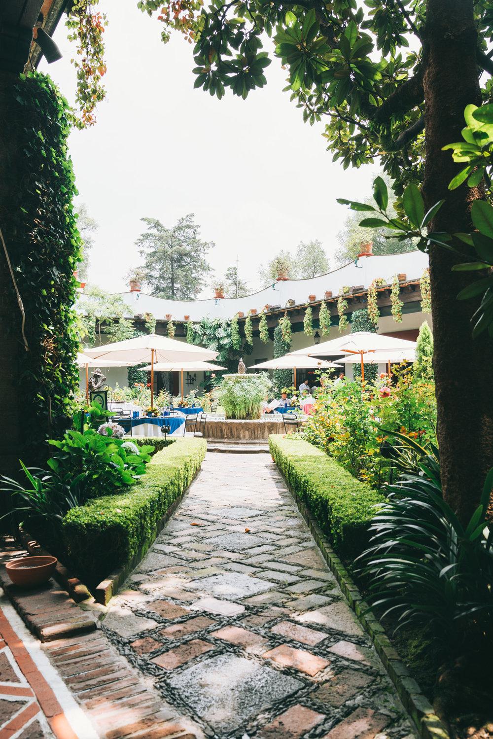 san angel inn courtyard