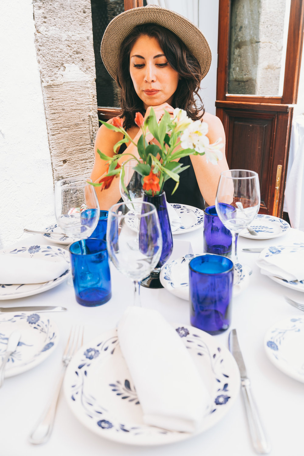 san angel inn dining table