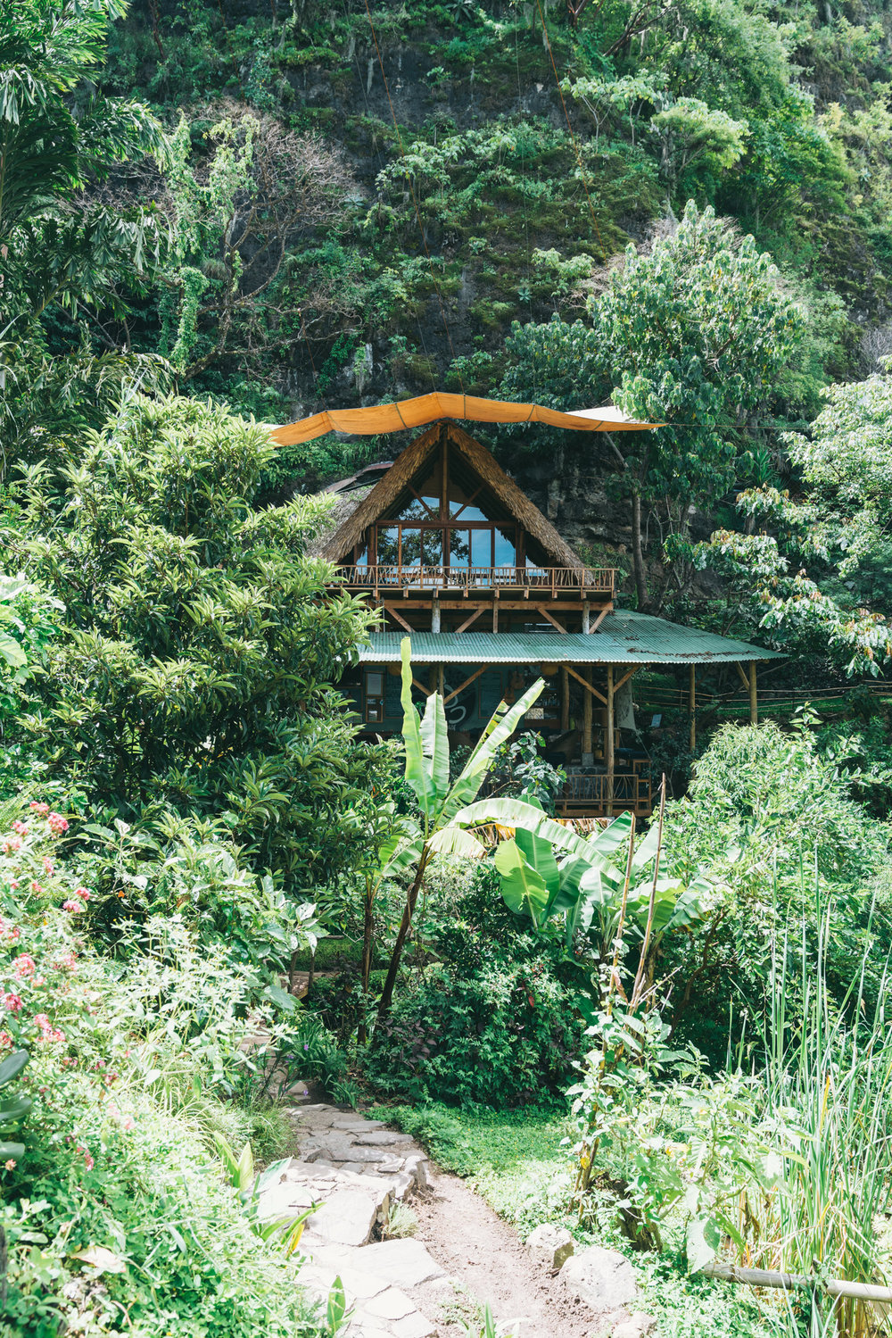The Yoga Forest Main Building