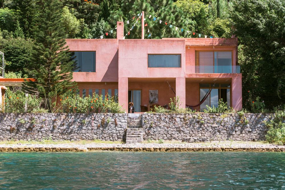 Casa rosada at lake atitlan