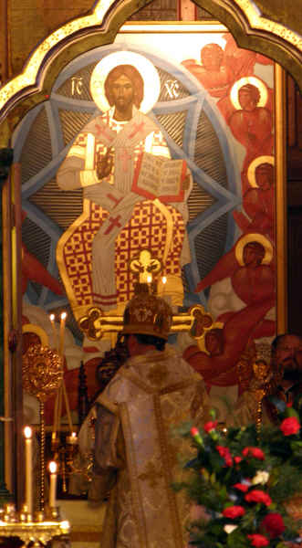 Christ Enthroned in Glory