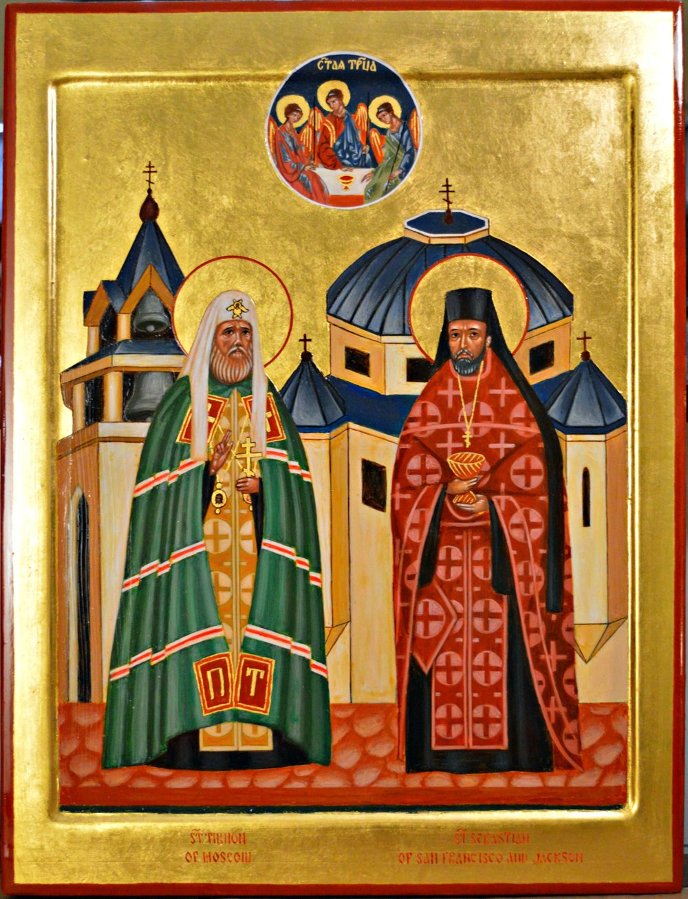 Saint Tikhon of Moscow and Saint Sebastian of San Francisco and Jackson