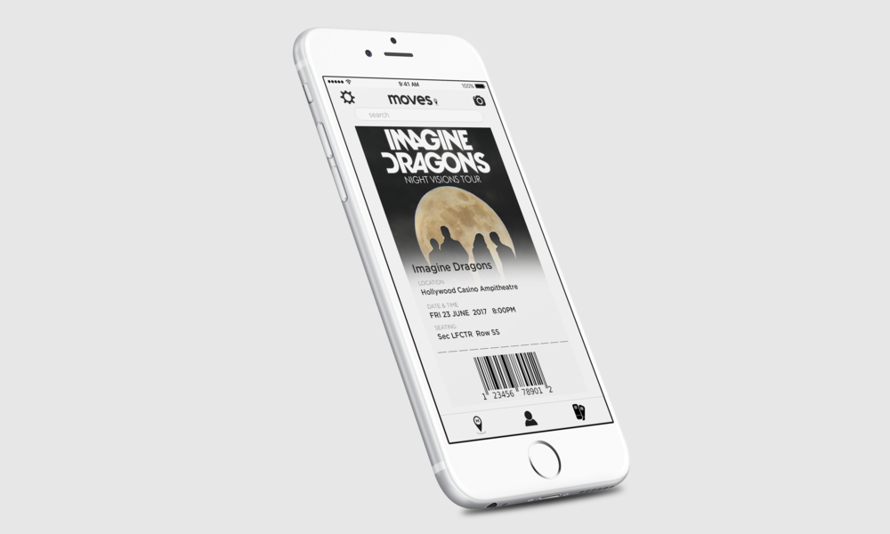 Get tickets to your next move - Purchase and store your tickets in your profile, then scan them when you're ready to check in.