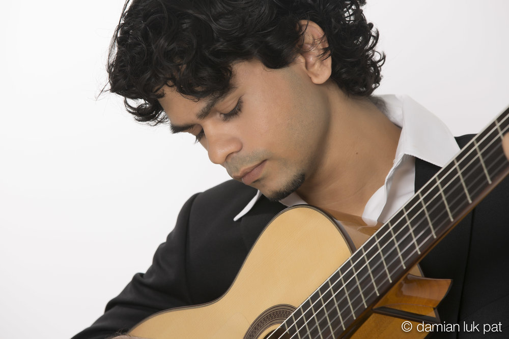 Stefan Roach - ...is one of the most sought-after classical musicians in Trinidad and Tobago.Stefan is best known for his fiery skills at flamenco guitar, classical pieces, rhythmic bossa nova and arrangements of popular music, including Latin, pop and soca.
