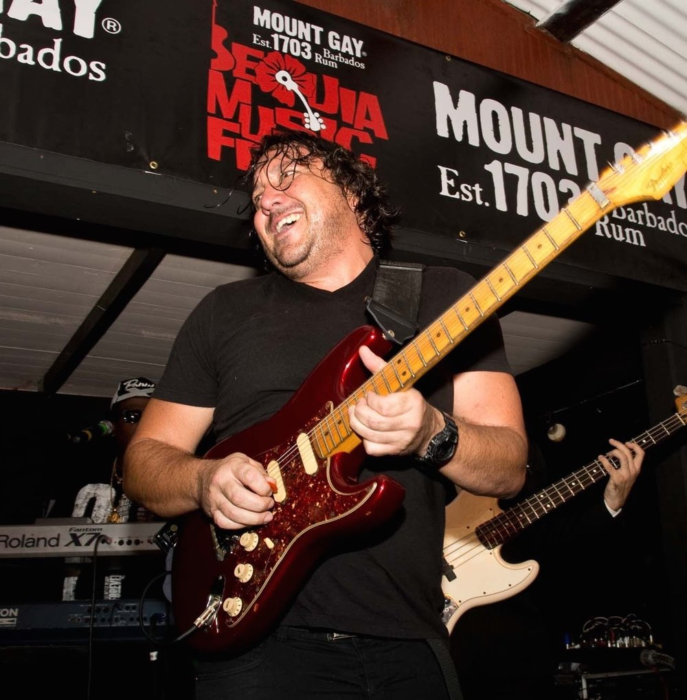 Toby Armstrong - ...has been a regular at this Music Fest. We are truly delighted to have him back with his shredding guitar licks and the worlds best 'guitar face'!