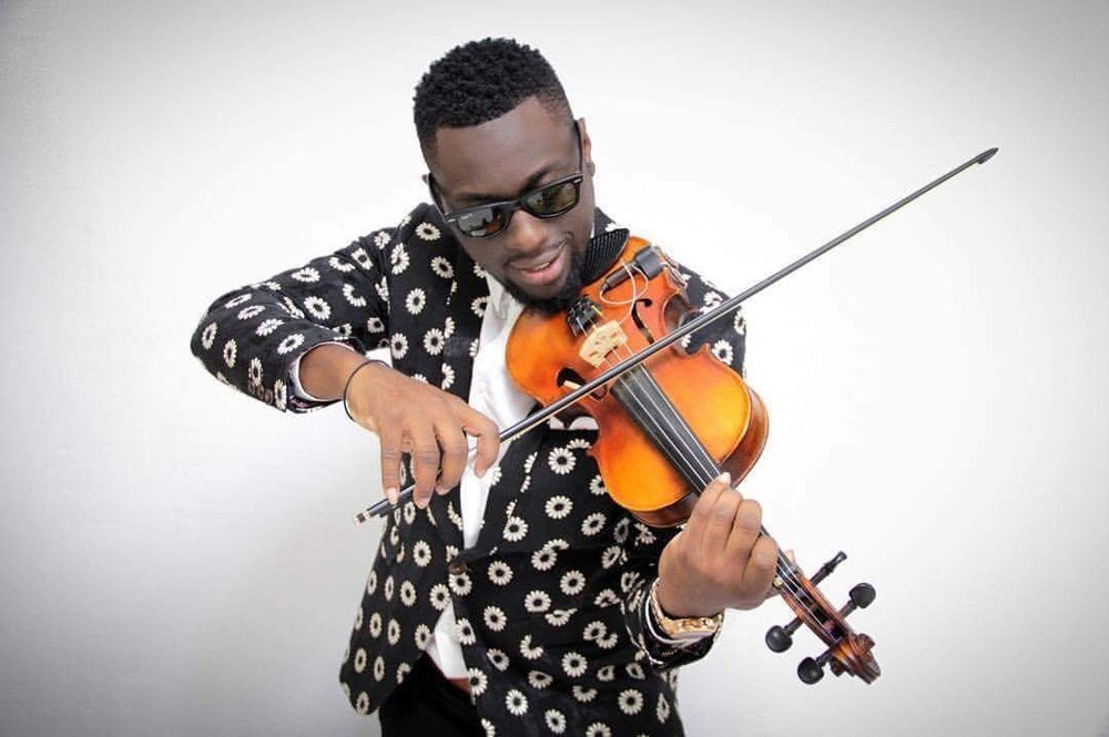 Darron Andrews - ...is an internationally acclaimed Vincentian Violinist. Currently residing in Jamaica we're pleased he's heading home to share his gift with us.Here he is playing in Jamaica.