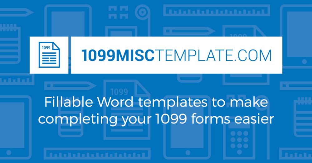 Misctemplatecom - 1099 misc template for preprinted forms