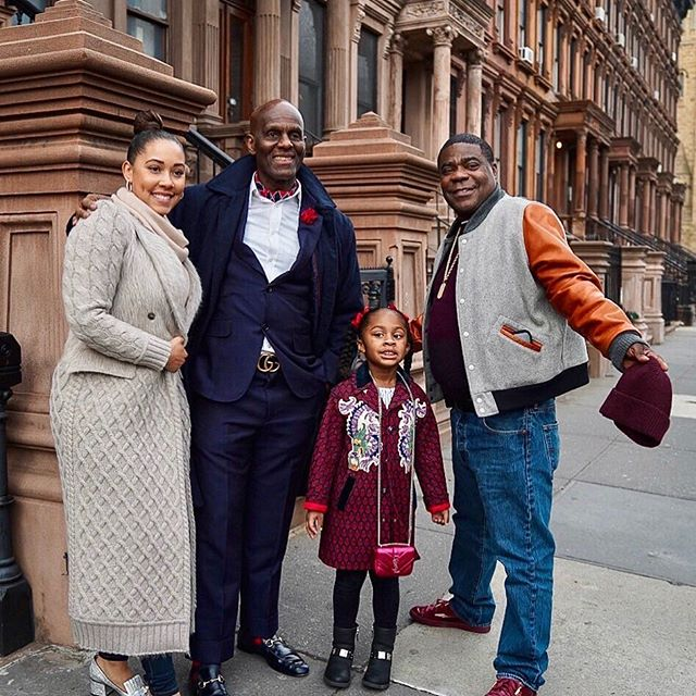 @dapperdanharlem and the family in Harlem!! @iammeganmorgan