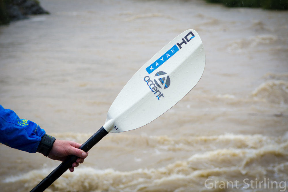 Kayak HQ  supplied  Accent - Collapsible paddles  See are  gear review of this paddle  Photo:  Grant Stirling