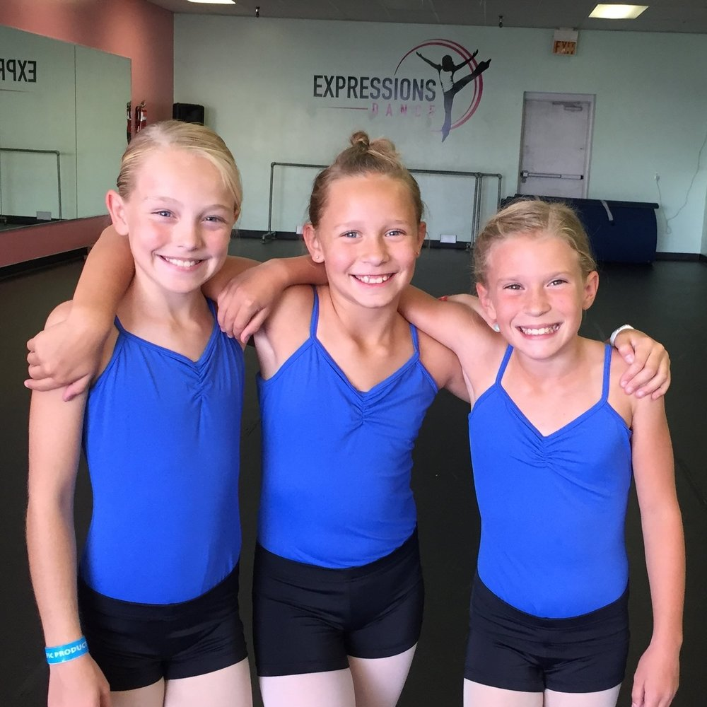 """My five year old has LOVED dancing at Expressions Dance!  Every day, she asks if she has dance class tonight!  And I love seeing how much her self confidence has grown!"""