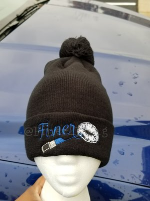 Finer Lipstick Winter Hats (Custom) — Finer Bling eef59d3dbfd