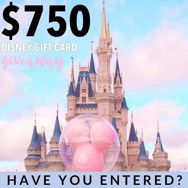 Calling all Disney lovers this is for you! 🐭🏰$750 Disney Gift card or $750 PayPal cash the choice is up to you! It just takes 30 seconds to enter!  To enter  1️⃣ Follow me @magicaltradingpost  2️⃣ Like this post ❤️ 3️⃣ Go to @gotta_have_it_giveaways and follow all directions  4️⃣ Tell us who you would take to Disney with you, TAG THEM! • • • #waltdisney #disneylandresortparis #disneyfan #disneylandparis25thanniversary #disneylandpark #disney #disneylandparis2018 #disneylife #mickeymouse #disneylandhalloween #disneylandcastle #parisdisneyland #disneygram #disneylandparis25 #disneyland #tokyodisneyland #instadisneyland #dlp #disneylandhotel #disneyworld #disneylandphotography #eurodisneyland #instadisney #disneylandresort #disneylandparis #disneylove #disneylandforever #disneyparks