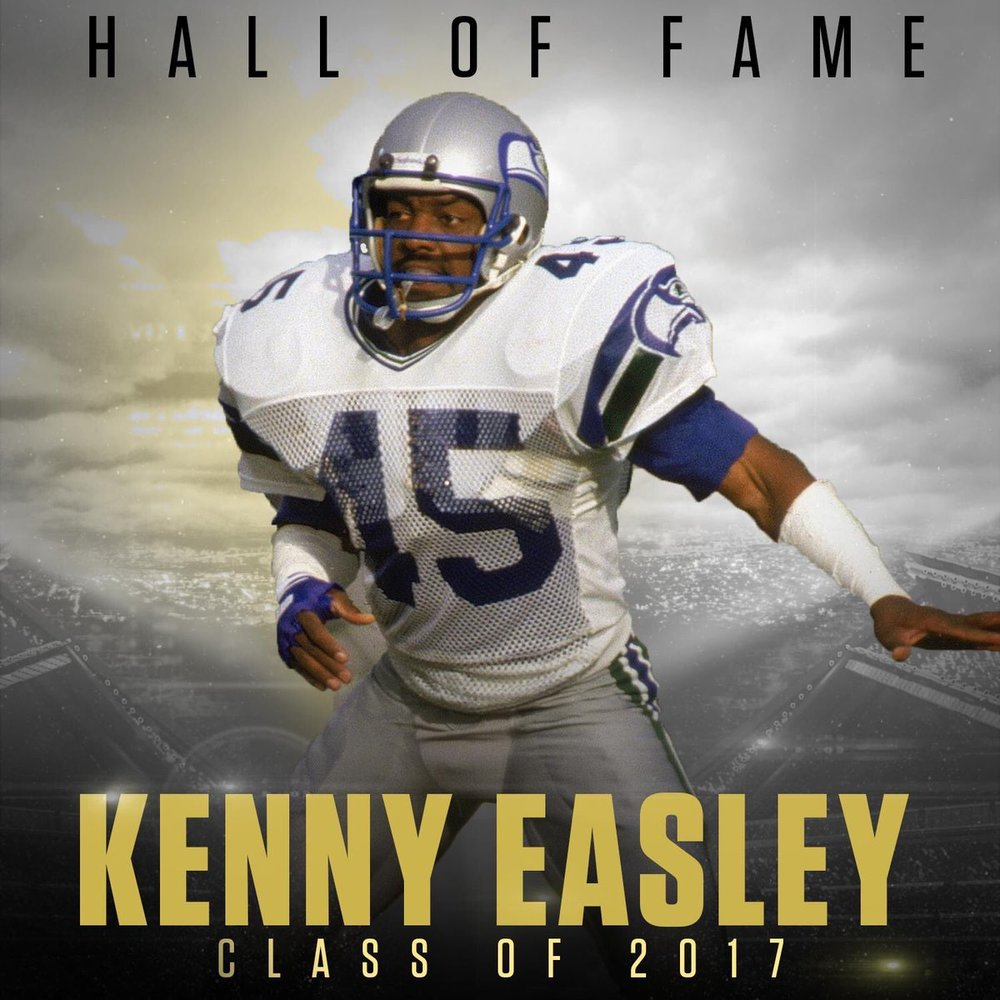 16817abdf Kenny Easley - Hall of Famer — Oscar Smith Football