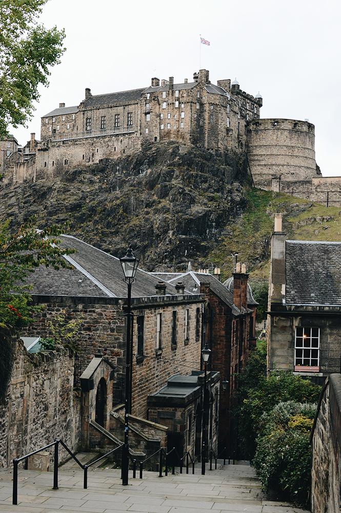visit Edinburgh in Scotland